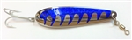 <b>3 oz. Gator Casting Spoon - Blue Tape - Treble Hook</b>