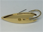 <b>1/2 oz. Gold Gator Weedless Spoon</b>