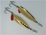 <b>3/4 oz. Gold Gator Casting Spoon</b>